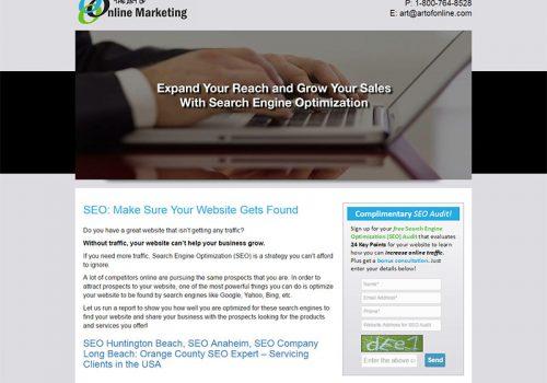 Art Of Web Traffic Web Design Orange County Digital Marketing Orange County
